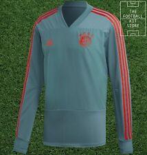 adidas Bayern Munich Football Training Top - Long Sleeved - Mens - All Sizes