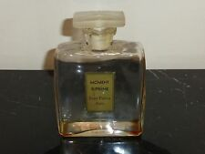 """RARE MOMENT SUPREME PERFUME BOTTLE BY JEAN PATOU W FROSTED STOPPER 5.5"""" H X 4"""" W"""