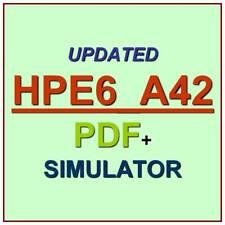 HP Implementing Aruba WLAN IAW 8 Test HPE6-A42 Exam QA SIM PDF+Simulator