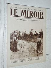 MIROIR 29/11 1914 CHASSEURS AFRIQUE YSER YPRES GURKHA BERLIN RUSSIE VISTULE