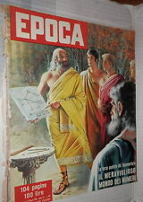 EPOCA 13 maggio 1956 Mosca senza Stalin Diana Dors monte Sarmiento Grecia Russia