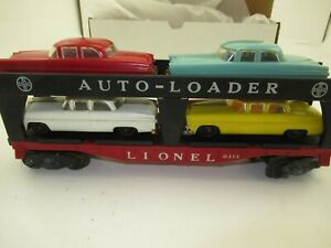 Lionel   6414 Auto Loader Car with Cars