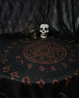 Altar Tarot Tablecloth Square Table Cloth Decor Divination Cards Gothic Tapestry