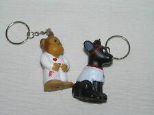 Monkey & Black Dog with Stethoscope Lot of 2 American Heart Association Ninja