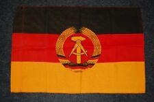 seltene kleine DDR-Fahne, dicker Baumwollstoff, Größe 58x40cm