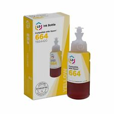 LD Compatible Yellow Ink Bottle for Epson 664 (T664420)