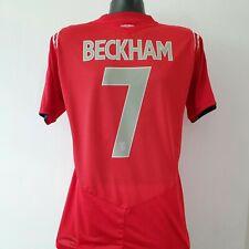 BECKHAM 7 England Shirt - Large - 2004/2006 - Away Jersey Football Umbro