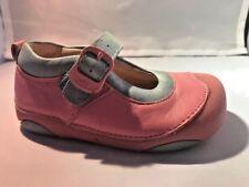 Infants Cradle/Pre Walking Pink/Blue Soft MaryJane Shoes Infants Size 5 1/2
