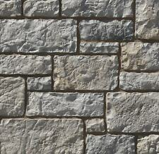 Handmade Stone Cast Veneers - Stone Cladding - Chateau Gray SAMPLES