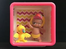 TWOZIES Two Noisy TICKY & TOCKY Baby and Pet ** with Shadow Box ** RARE