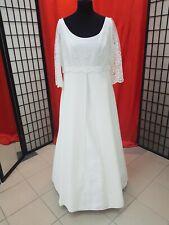 Brautkleid Größe 46 48 von Lilly ivory schlicht  hochwertige Spitze TOP Zustand