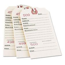 Avery Repair Tags 5 1/4 x 2 5/8 Manila 500/Box 15030