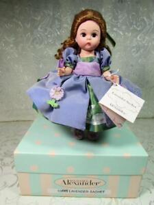 "Madame Alexander 8"" LAVENDER SACHET Doll # 33645 - 2004 - MIB"