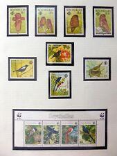 SEYCHELLES 1985/1996 Beautiful Birds U/M NM602