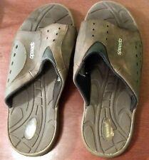 7202e229701f Speedo Mens Slide Sandals Brown Size 8 Small