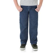 Wrangler Jeans Size 12 Carpenter Boys Huskey Denim
