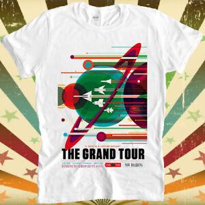 NASA Grand Tour Poster Print Voyager Mars Space Travel Jupiter Gift T Shirt 3073