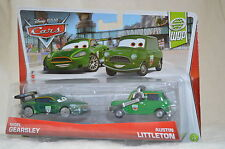 "Disney Pixar CARS WGP "" NIGEL GEARSLEY & AUSTIN  LITTLETON "" SET Of 2 NIP"