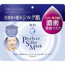Shiseido Senka Perfect Silky Mask 28 sheets Silk essence, Hyaluron, Collagen