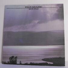 """33T Felix LECLERC Disque LP 12"""" + Poster Texte MON FILS -PHILIPS 9101220 punki64"""