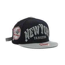 New York Yankees MLB Mark Strap 9FIFTY Strapback Hat Cap Flat Bill Brim New NY