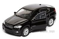 BMW X6 Black, Welly scale 1:34-39, model toy car gift