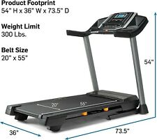 (Used but in Great condition) NordicTrack T 6.5 S Treadmill (Ntl17915)