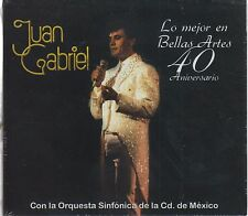 CD - Juan Gabriel CD / DVD Orquesta Sinfonica CD Mexico Bellas Artes 40 Aniv !