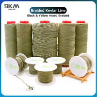 Kevlar Line 80~400lb Braided Fishing Assist Line Kite String Made with Kevlar
