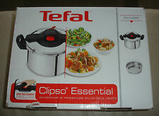 Jamie Oliver Tefal Schnellkochtopf Clipso Essential Topf 6 L UVP 109,99€ NEU&OVP