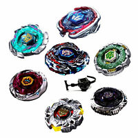 Rare Fight Beyblade 4D Fusion Metal Rapidity Master Top + Launcher Grip Set Toys