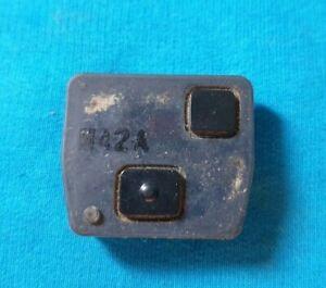 Toyota 2 button remote key fob remote part 4c chip