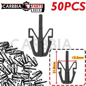 50pcs Grille Retainer Clip Black Plastic For Chevy Colorado GMC Isuzu 8942180270