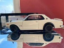 Nissan skyline hardtop 2000 gtr autoart 1:18 white