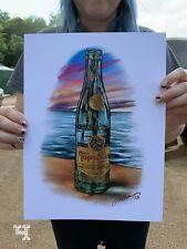 Topo Chico Art Beach Scene