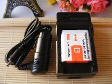NP-BG1 Battery + Charger fòr Sony Cyber-shot DSC-W220 DSCW220 DSC-W230 DSCW230