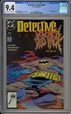 DETECTIVE COMICS #605 - CGC 9.4 - CLAYFACE - 1627032012