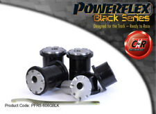 BMW 5 Series 88-96 POWERFLEX Negro RR Trail Cojinetes del brazo ajustable