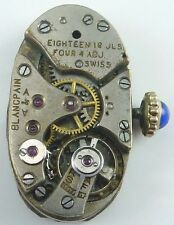 Blancpain High - Grade  Mechanical Wristwatch Movement - Parts, Repair!