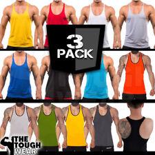 3Pack Gym Stringer - Men's Tank Top for Bodybuilding and Fitness - Stringer