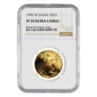 1996 W 1/2 oz $25 Proof Gold American Eagle NGC PF 70 UCAM