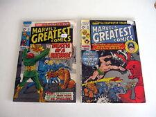*MARVEL'S GREATEST COMICS #24-34 LOT 9 Books Guide $75.50