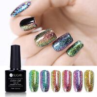 7.5ml UR SUGAR Chameleon Holographic Soak Off UV Gel Nail Polish Starry Nail Gel