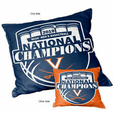 UVA Cavaliers 2019 Basketball National Champions Couch Pillow