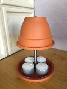 Teelichtofen mit Glockentopf