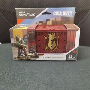 Mega Construx Call Of Duty Solo Mercenary Outpost FXW82 NEW