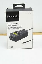 Saramonic SmartRig+ Di Two Channel Mic & Guitar Interface For IOS Devices Iphone