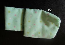 Lego Belville Cloth Pouch x2 Child with Dots Gigoteuse fille du 5846 5890 5855