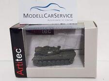 Artitec 1/160 (n-Spur): 6160042 Leopard 1 bundesw., amarillo verde oliva, transporte ferroviario