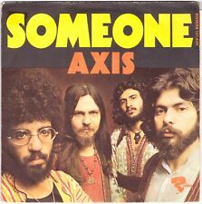 "AXIS Someone + Long Time Ago 7"" Single – 1970s Greek Rock, on French Vogue"